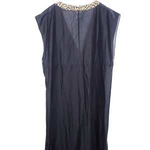 Michael Kors Dresses - Michael Kors Sleeveless Shift Dress Side Split